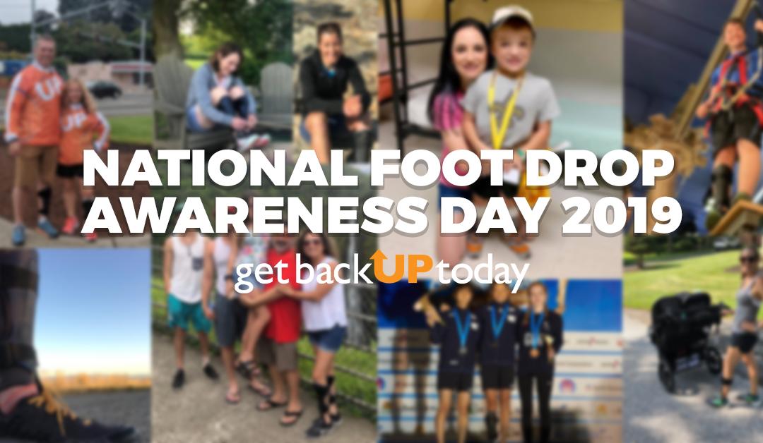 National Foot Drop Day: Stories & Photos