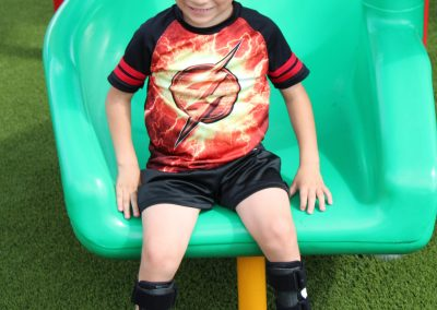 Adam on the slide